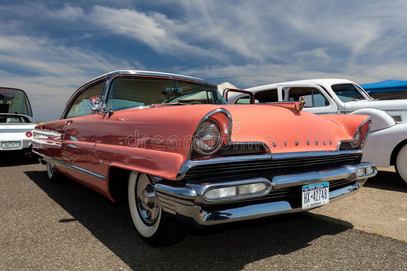 1956 Lincoln stock photography