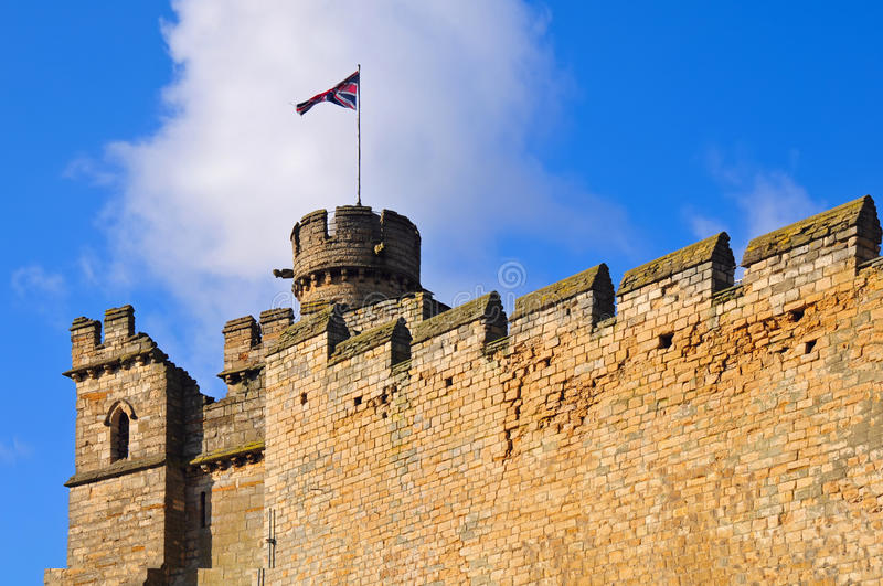 Lincoln castellations royalty free stock photo