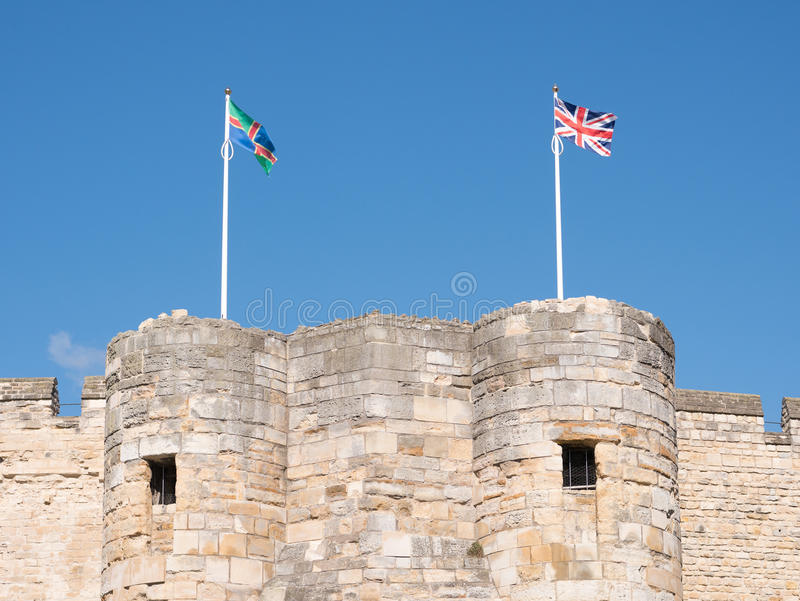 Lincoln Castle foto de stock royalty free