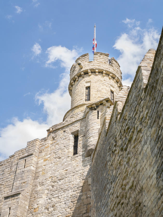 Lincoln Castle imagens de stock royalty free
