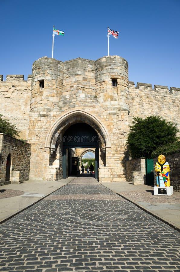 Lincoln Castle fotos de stock royalty free