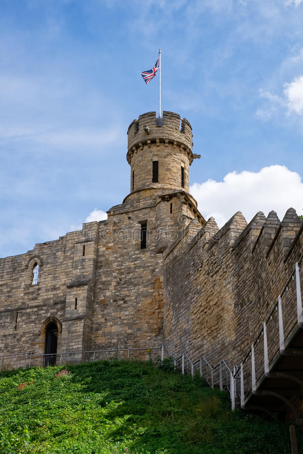 Lincoln Castle fotografia stock