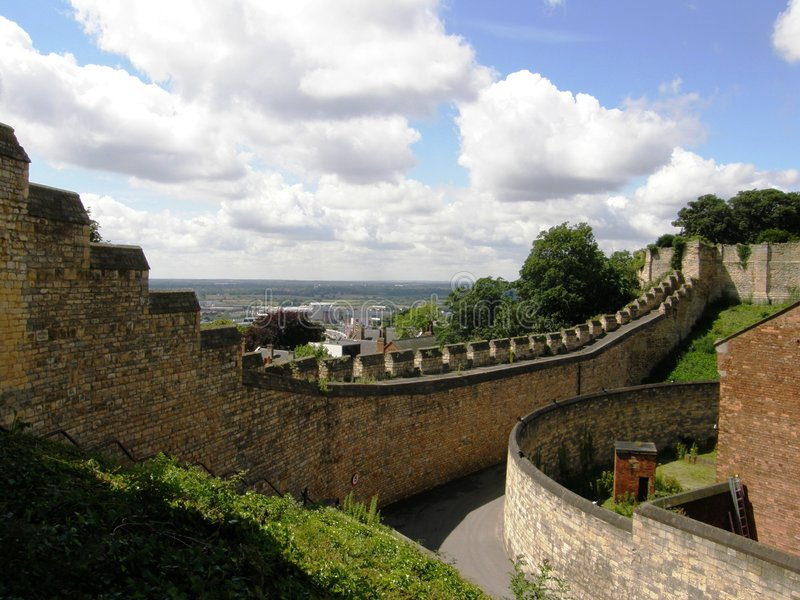 Lincoln Castle, UK royalty free stock photography