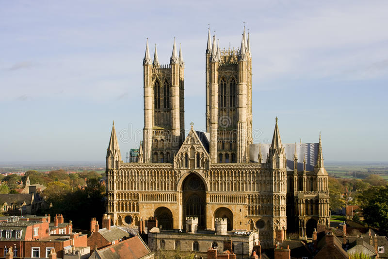 Lincoln Cathedral royalty free stock photography