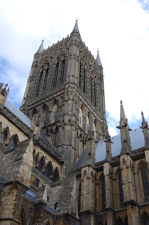 Lincoln Cathedral stock photography