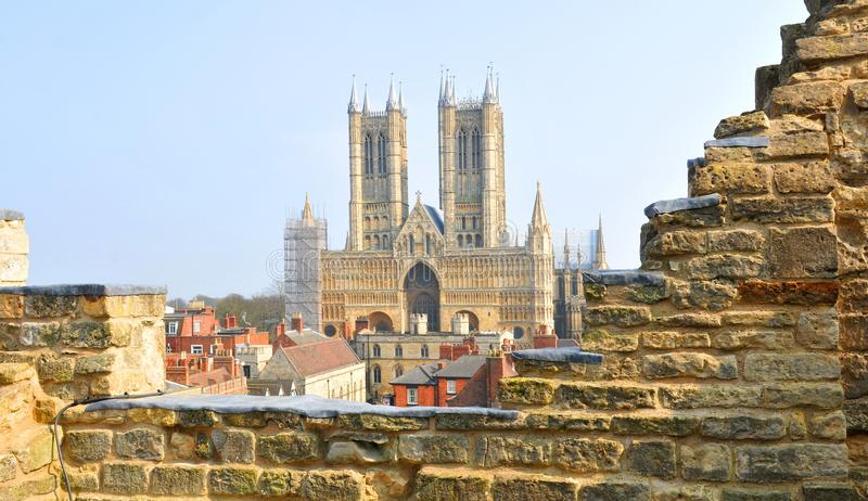 Lincoln Cathedral royalty-vrije stock foto