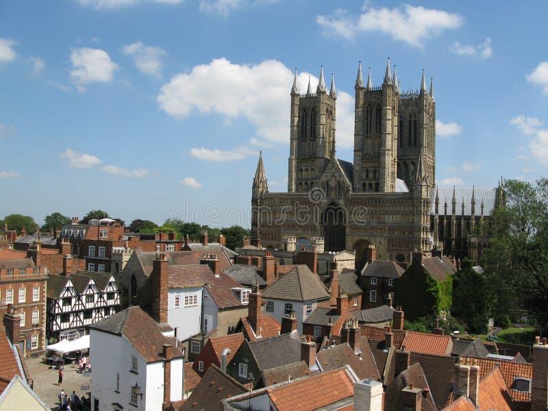 Lincoln Cathedral fotografia stock libera da diritti