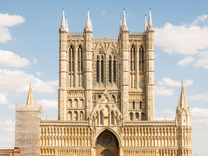 Lincoln Cathedral foto de stock
