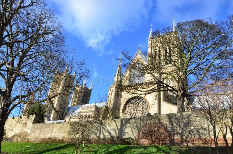 Lincoln Cathedral fotografia stock