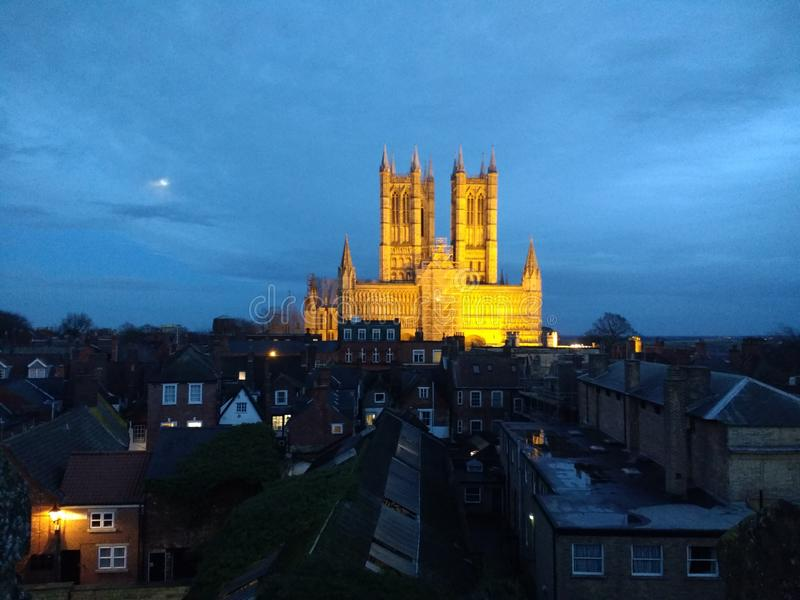Lincoln Cathedral royalty-vrije stock afbeelding