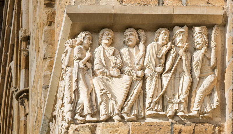 Download Lincoln Cathedral Frieze Stock Image Of Architecture