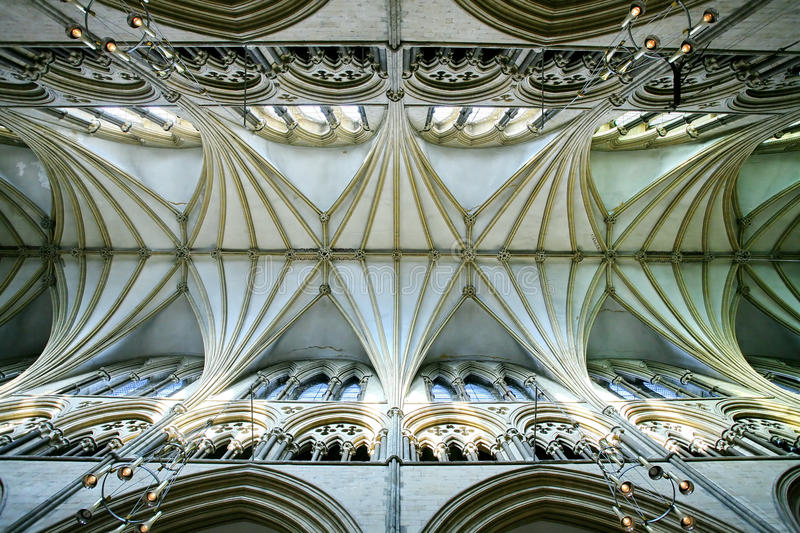 Download Lincoln Cathedral Interior stock photo. Image of church - 18137324