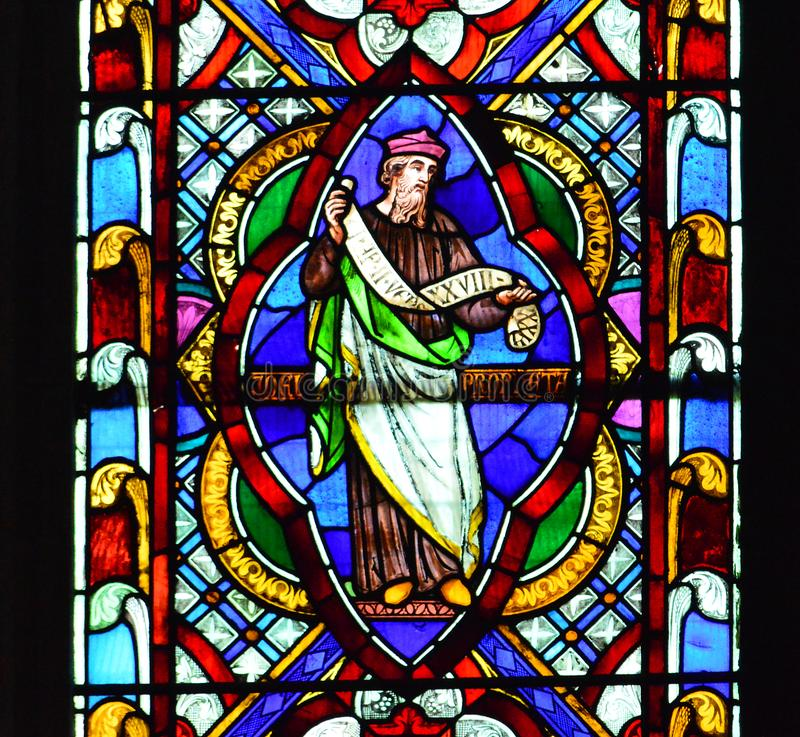 Lincoln Cathedral Window royalty-vrije stock foto