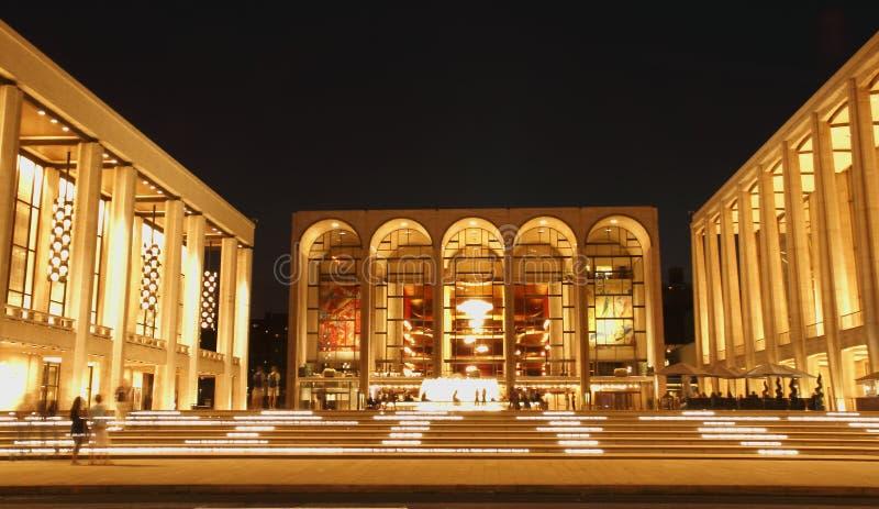 Lincoln Center στη Νέα Υόρκη στοκ φωτογραφία με δικαίωμα ελεύθερης χρήσης
