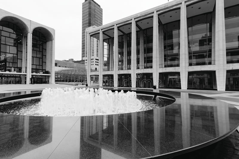 Lincoln Center lizenzfreie stockfotos