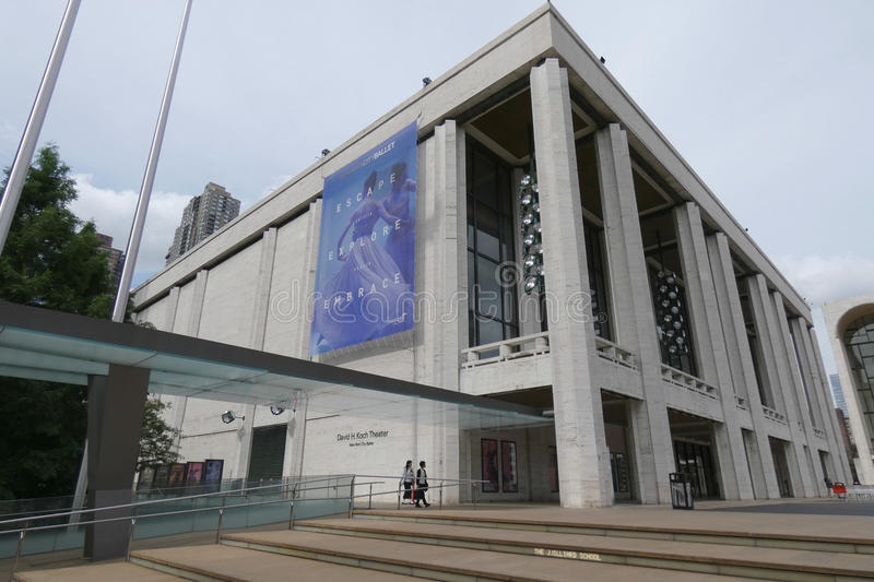Lincoln Center stock images