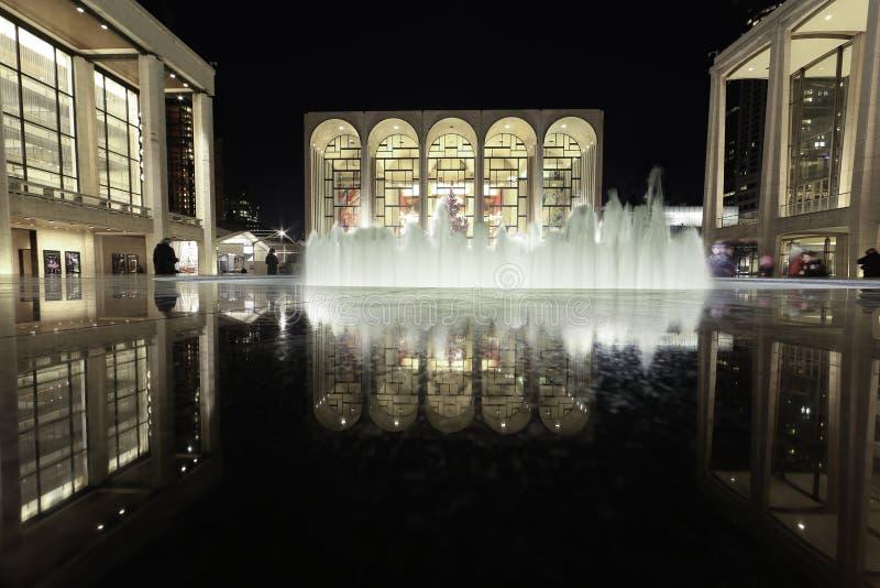Lincoln Center für die Performing Arten stockbild