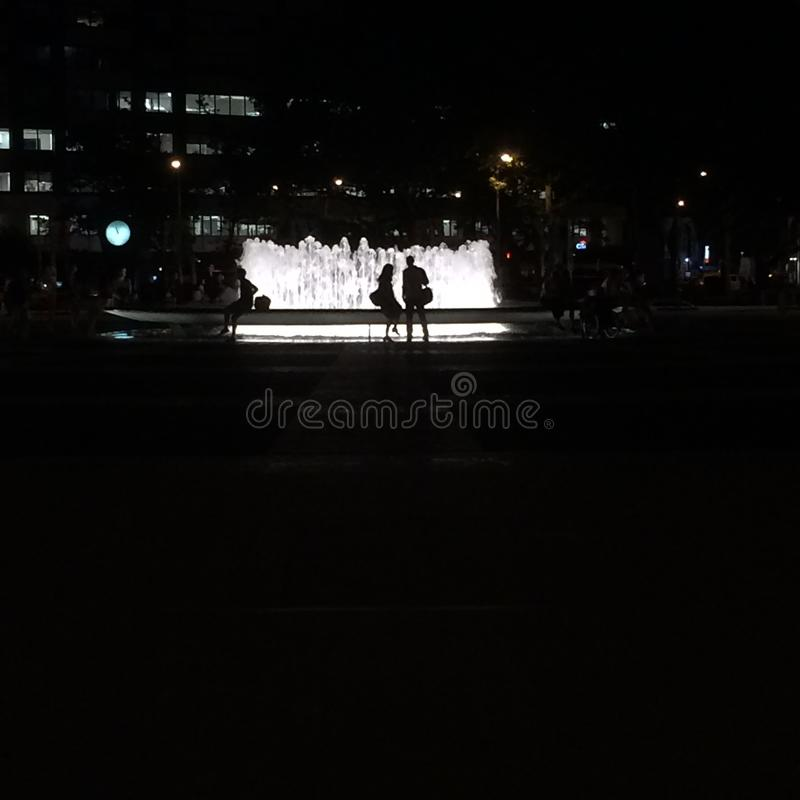 Lincoln Center Fountain royalty-vrije stock afbeelding