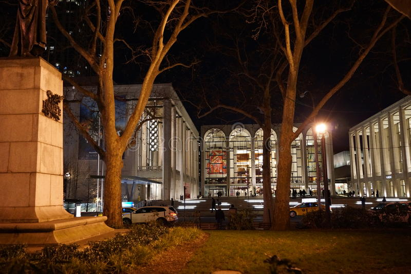 Lincoln Center Night Shots 1 stock photography