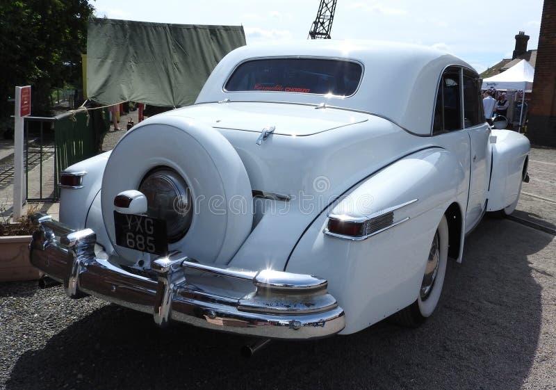 Lincoln Continental 1948 lizenzfreies stockbild