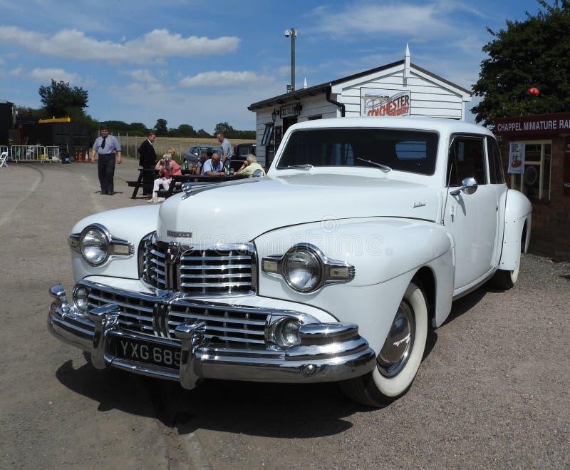 Lincoln Continental 1948 royaltyfria foton