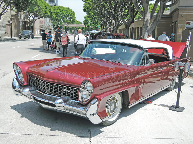 Lincoln Continental royalty-vrije stock afbeelding