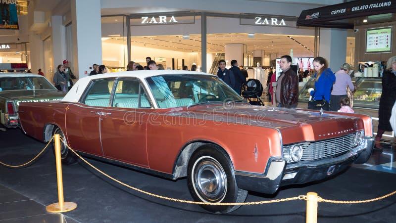 Lincoln Continental photo stock