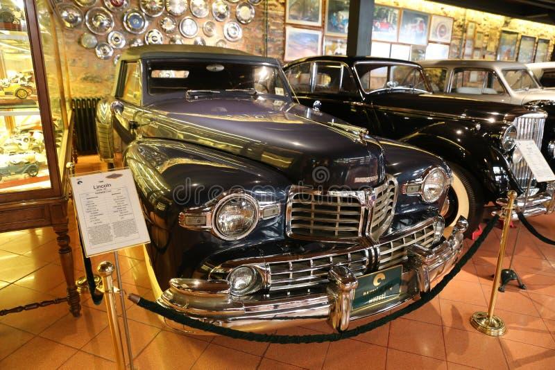 Lincoln Continental Coupe 1948 royaltyfri bild