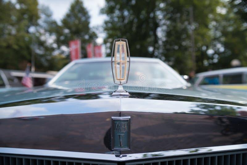 Lincoln Continental Mark V royalty-vrije stock foto's