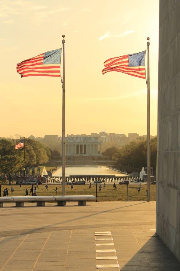 Lincoln da Washington fotografie stock libere da diritti