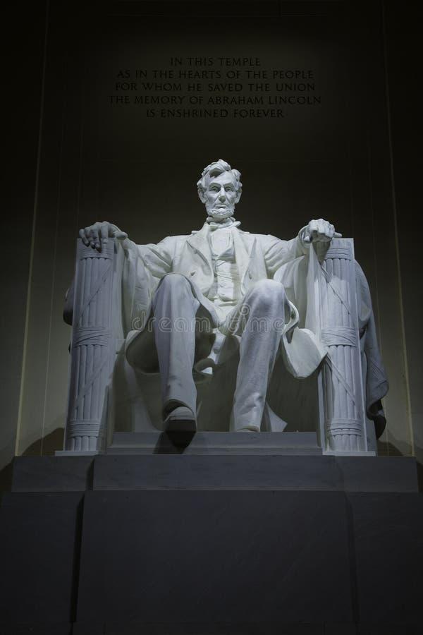 Lincoln-Denkmal 1 stockbild