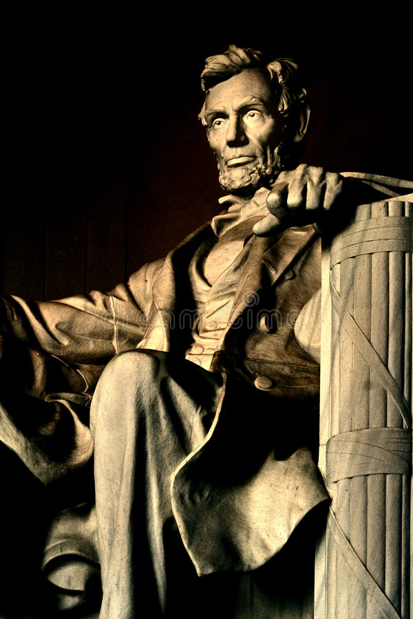 Lincoln-Denkmal lizenzfreies stockbild