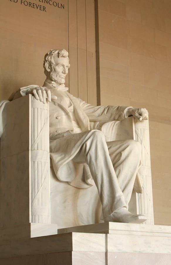 Lincoln-Denkmal stockfotografie