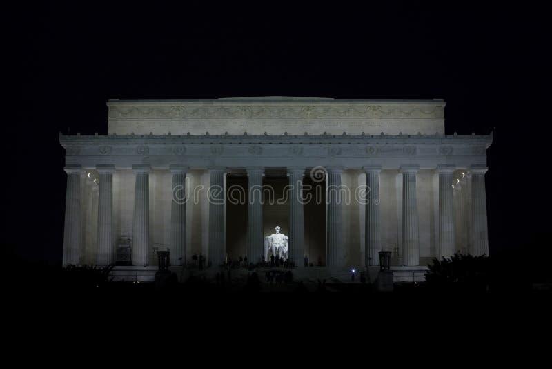 Lincoln-Denkmal 3 lizenzfreie stockfotos
