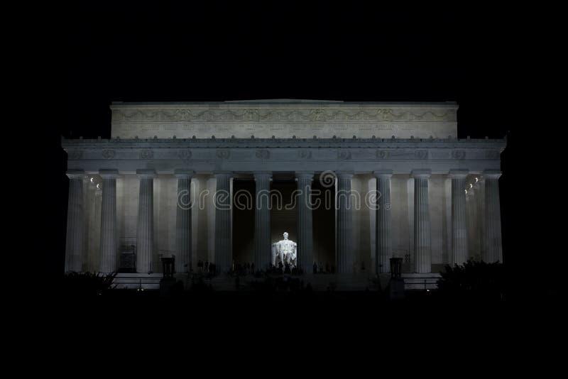 Lincoln-Denkmal 4 stockfotos