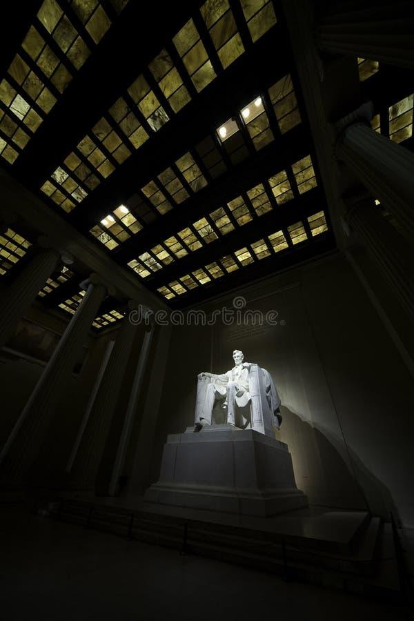 Lincoln-Denkmal 6 lizenzfreies stockbild