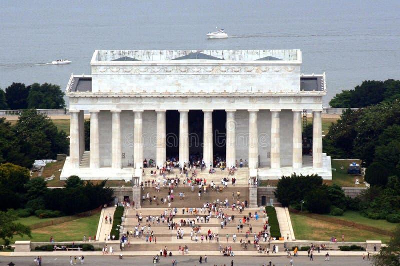Lincoln-Denkmal lizenzfreie stockfotos