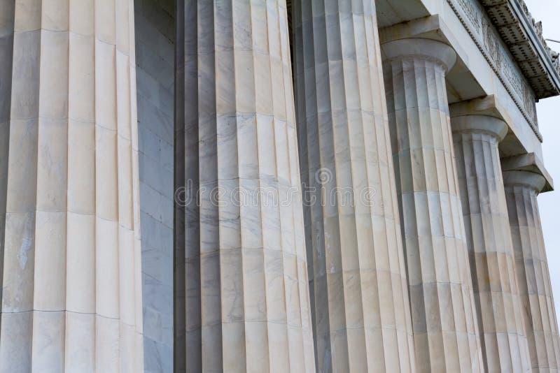 Lincoln-Denkmal, Washington DC stockfoto