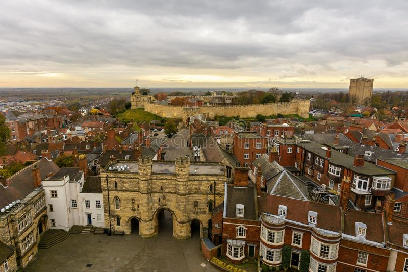 Lincoln East View, Angleterre photo stock