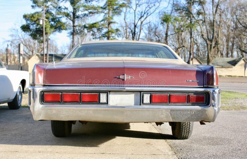 Lincoln Grodzki Samochodowy Tylni widok zdjęcia royalty free