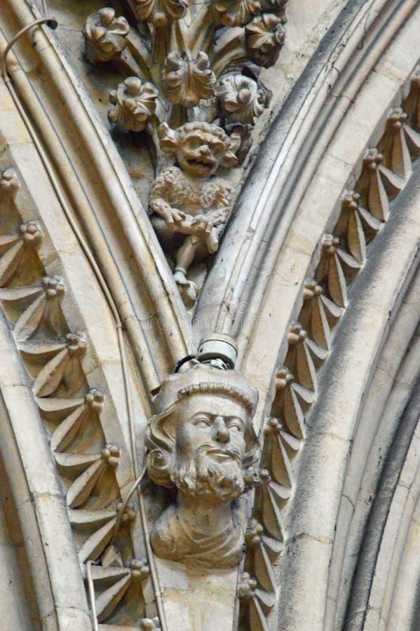 Lincoln Lincoln Katedralny chochlik fotografia stock