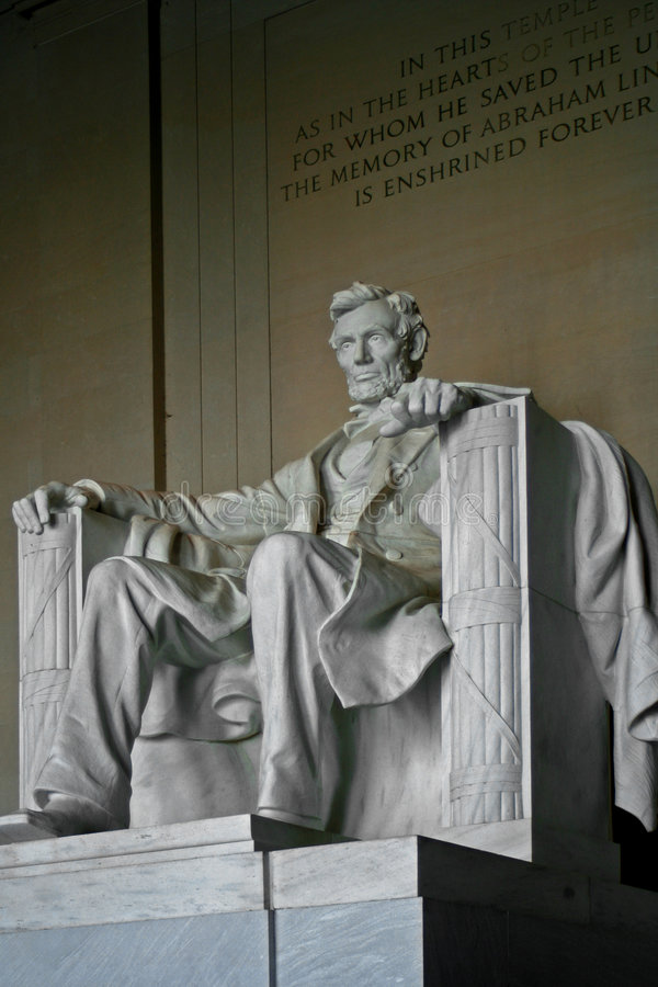 lincoln memorial obrazy stock