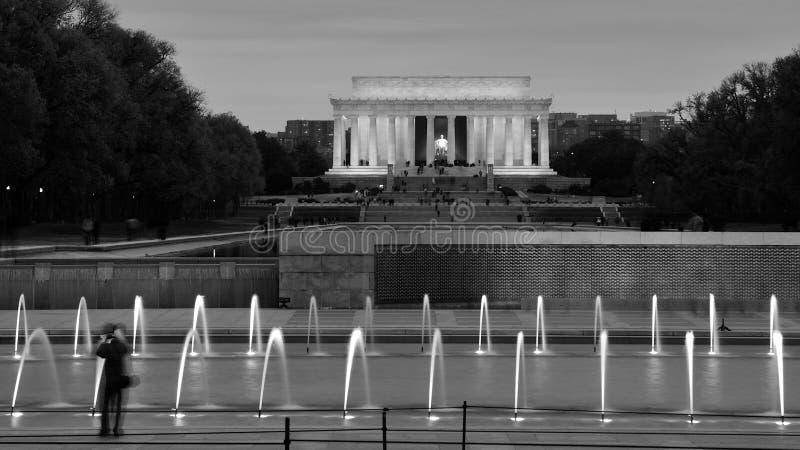 Download Lincoln Memorial stock photo. Image of lake, president - 17603832