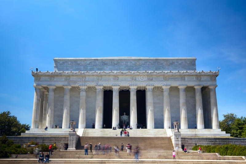 Download The Lincoln Memorial stock photo. Image of statue, national - 24901046