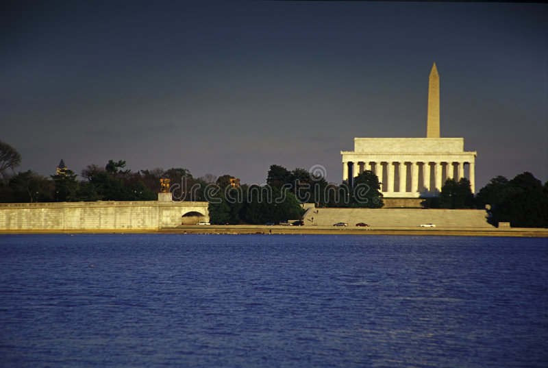 Lincoln Memorial stock photography