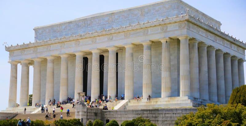 Lincoln Memorial images libres de droits