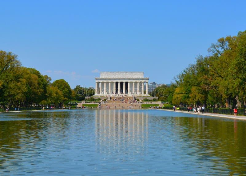 Lincoln Memorial stock afbeeldingen