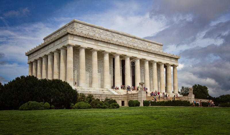 Lincoln Memorial imágenes de archivo libres de regalías