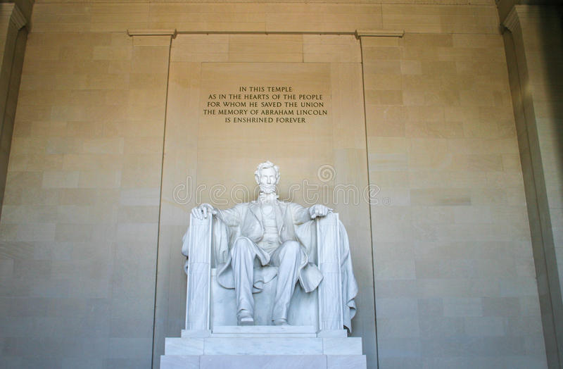 Lincoln Memorial fotografia stock libera da diritti
