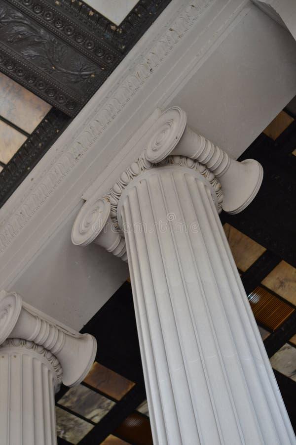 Lincoln Memorial Detail royalty free stock photos